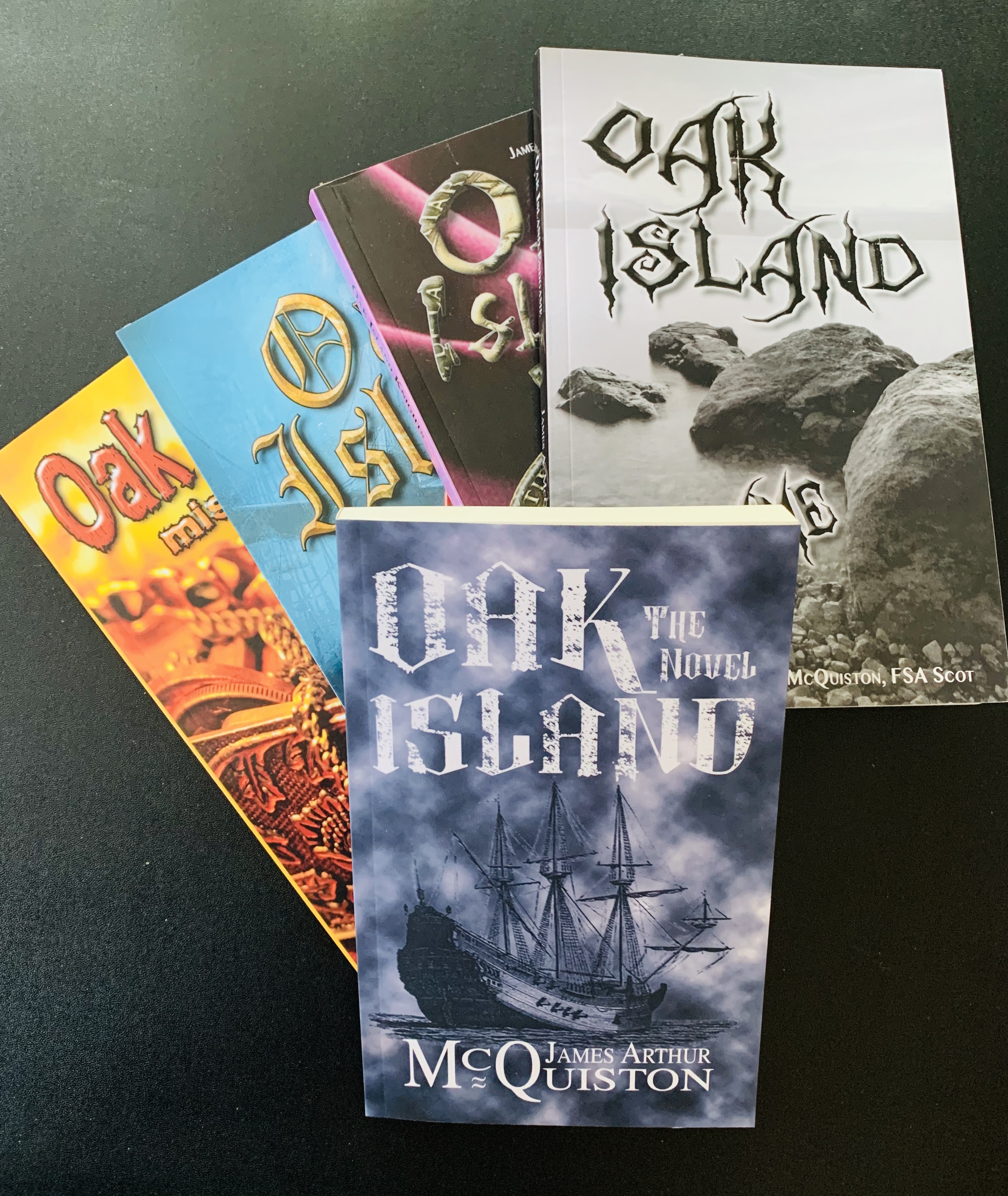 Oak Island - James McQuiston books