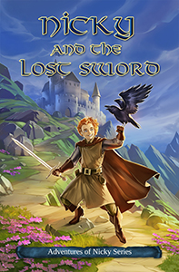 book cover - Nicky and the Lost Sword