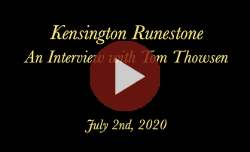 Kensington Runestone: An Interview with Tom Thowsen